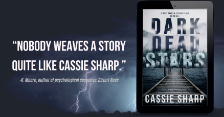 """Nobody weaves a story quite like cassie sharp."""